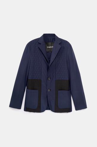 Casual padded blazer