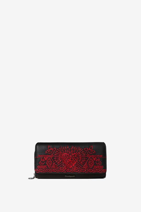Rectangular coin purse heart | Desigual