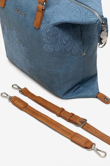 Reptile effect bag with mandalas | Desigual