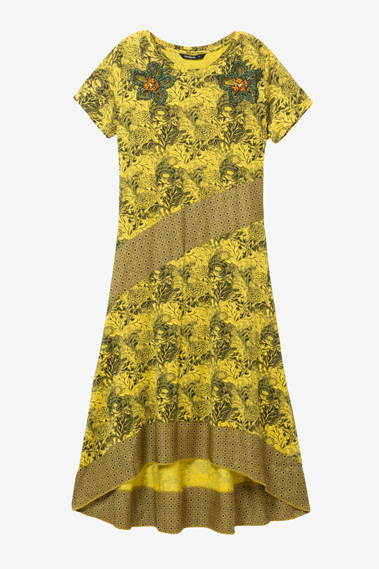 Asymmetric Dress Duna | Desigual