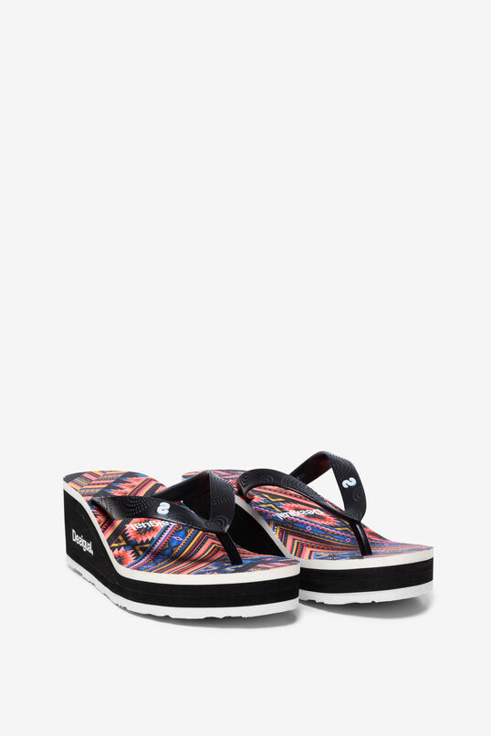 Wedge Sandals Lola Mexican | Desigual