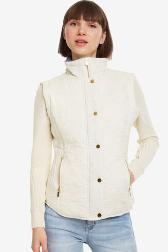 Removable Sleeves Jacket