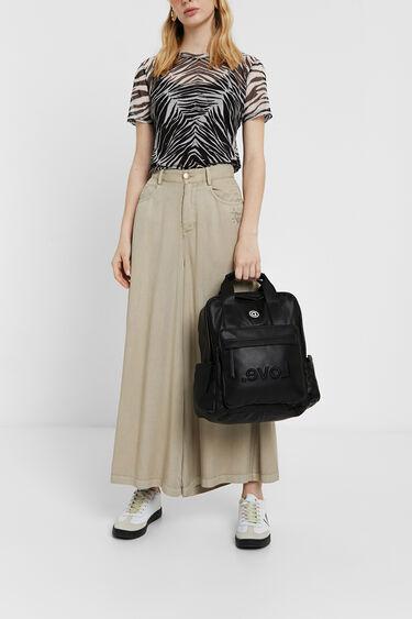 Transparentes Zebra-Shirt | Desigual