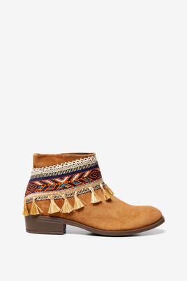 Boho Ankle Boots Soho Ethnic
