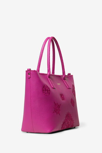 Grand sac à mandalas en relief | Desigual