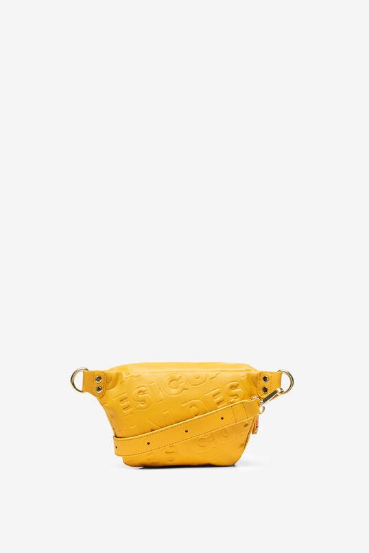 Sac banane logomania relief | Desigual