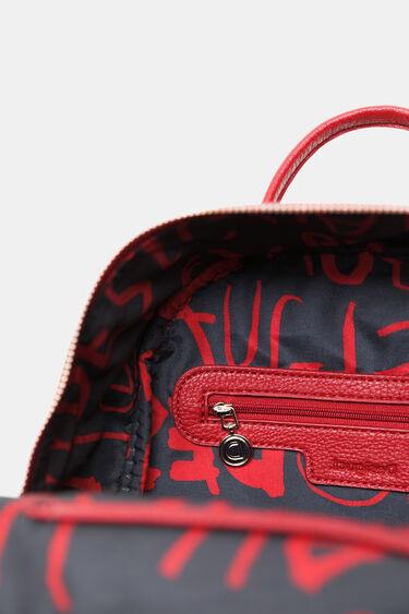 Plecak z haftem i apaszką | Desigual