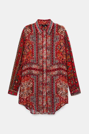 Long shirt ethnic friezes | Desigual