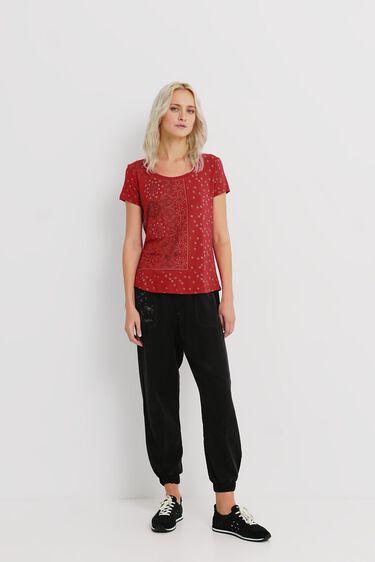 T-shirt short sleeve mandalas | Desigual