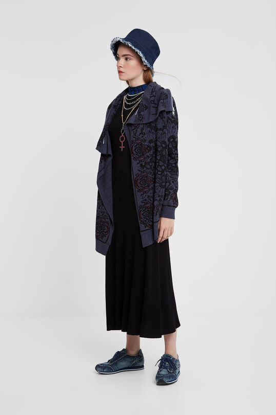Neck cape jacket | Desigual