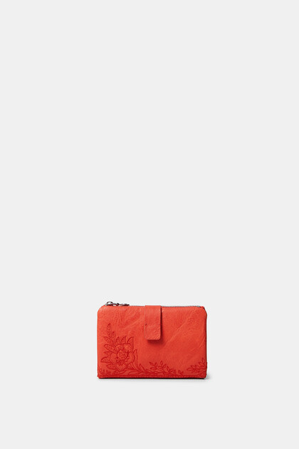 Kleines Portemonnaie Blumen