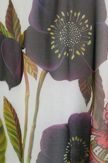 T-shirt sem mangas florida | Desigual
