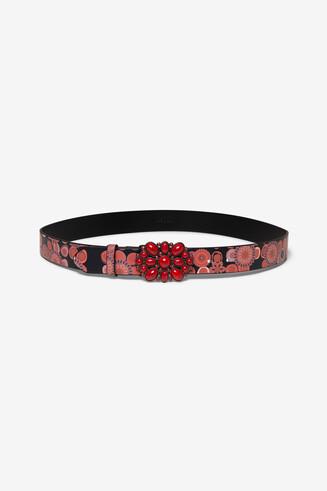 Jewel buckle belt