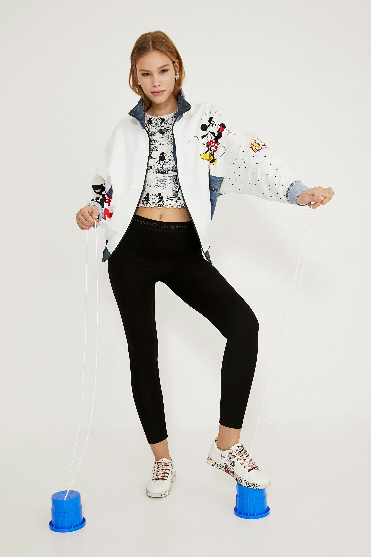 Giacca iconica di jeans oversize WHITE L