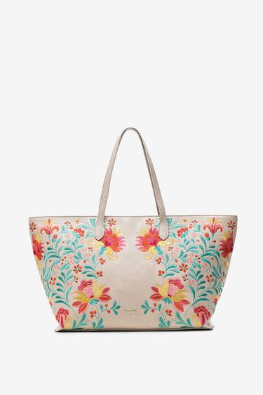 Maxi-bag floral print | Desigual