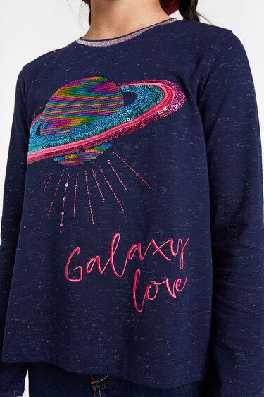 Printed oversize jumper | Desigual
