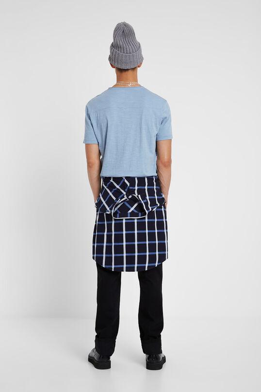 T-shirt Freddy en coton bleu   Desigual