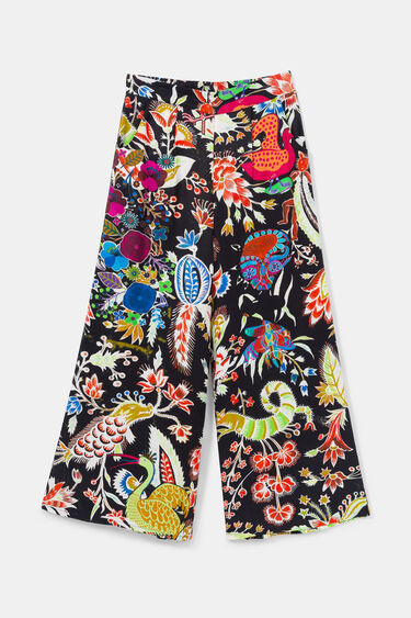 Jupe-culotte fantaisie | Desigual