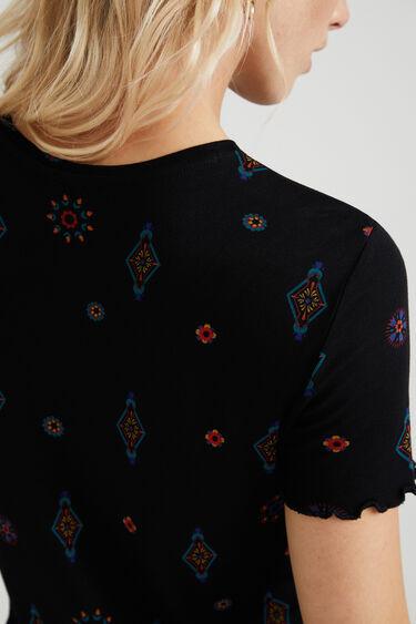 Viskose-Shirt Boho-Muster   Desigual