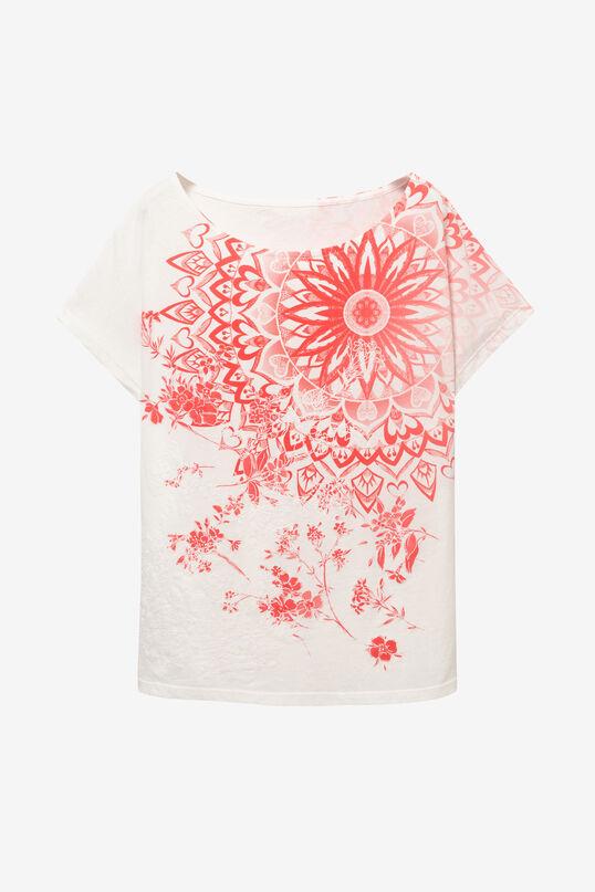 100% Cotton T-shirt Blooming | Desigual