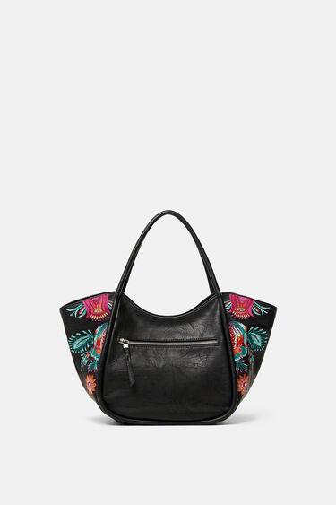 Floral shoulder-tote bag | Desigual