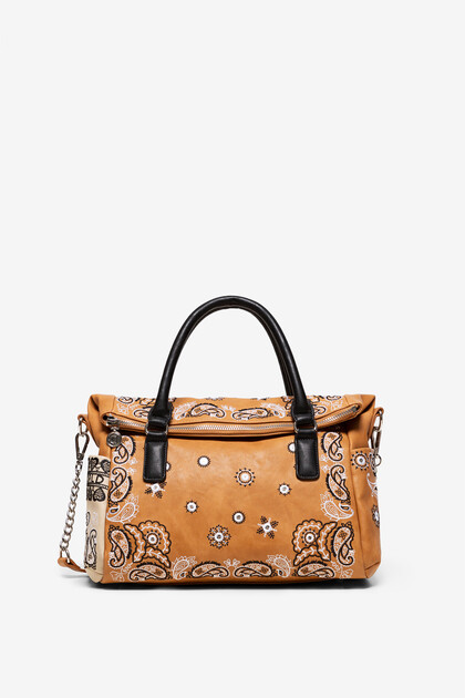 Boho-Tasche mit Paisley-Muster