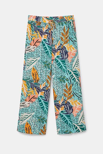 Long pyjama bottoms viscose