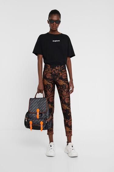 Etnische skinny broek | Desigual