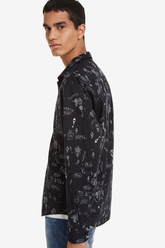 Bolimania Slim Black Shirt