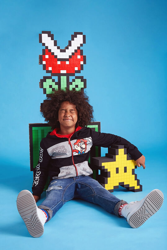 Dessuadora reversible Super Mario | Desigual