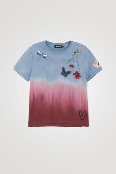 Tie-dye flowers T-shirt | Desigual