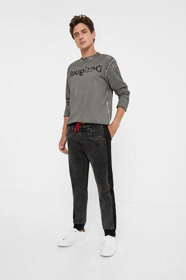 Pantaloni jogger denim | Desigual