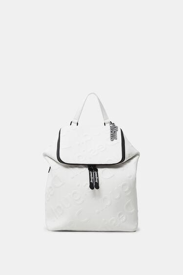 Big backpack logo | Desigual