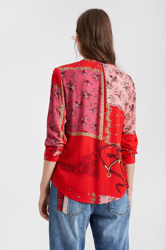 Floral patchwork shirt   Desigual