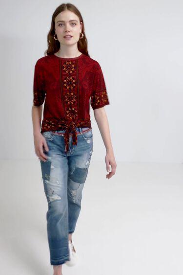 Boho bow T-shirt | Desigual