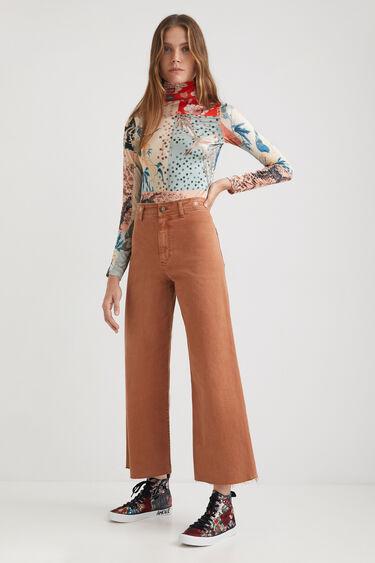 Hose Wide Leg Straight | Desigual