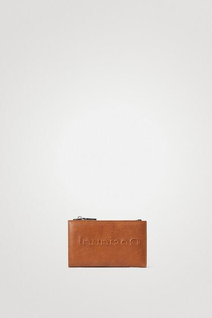 Long coin purse logo