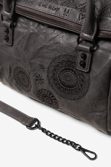 Foldable leather-effect bag | Desigual