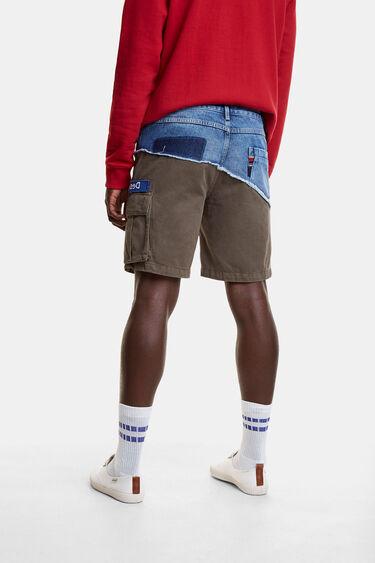 Hybrid denim cargo trousers   Desigual