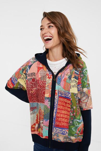 Reversible hood jacket