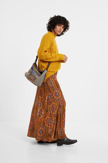 Small patchwork sling bag | Desigual