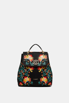 Floral print backpack