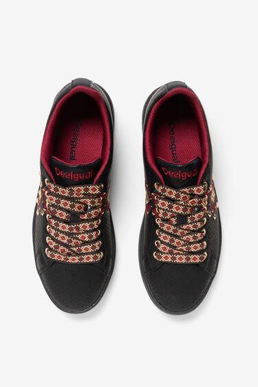 Sneakers gravades print navaho | Desigual