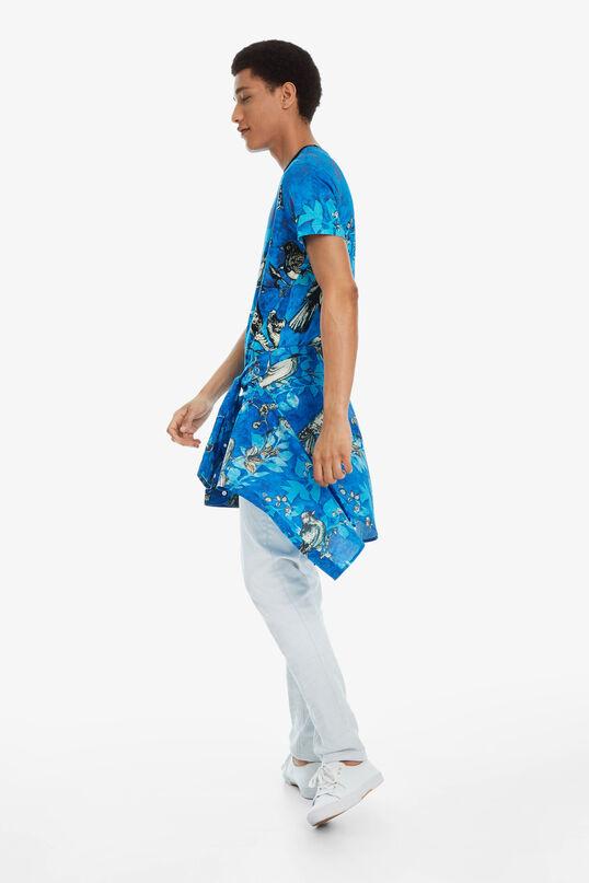 Cotton Swallows T-shirt Diego   Desigual