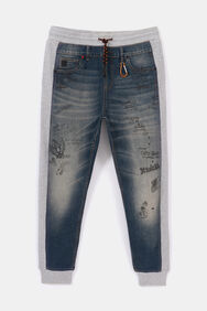 Hybrid Jogger and jeans with bolimania | Desigual