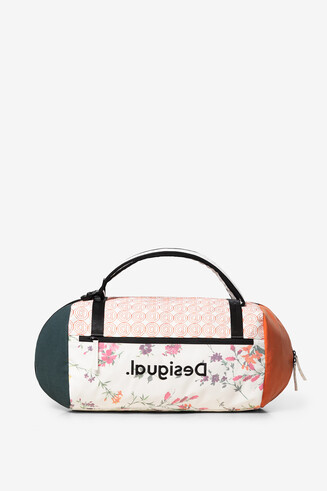2 in 1 tubular bag floral print