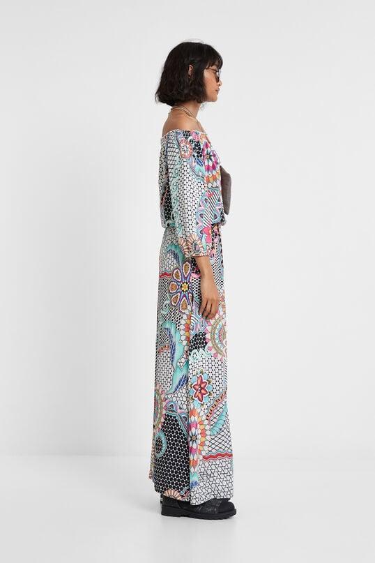 Long mandalas dress | Desigual