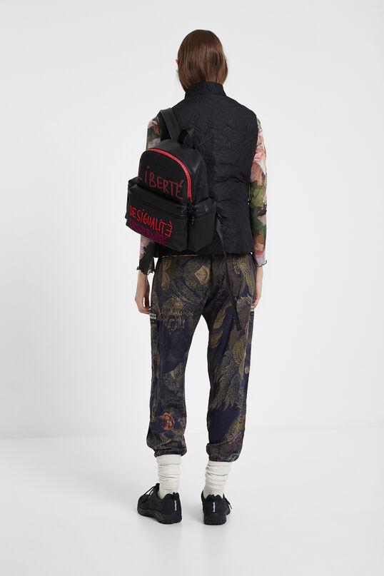Pantalone cargo camoflower   Desigual