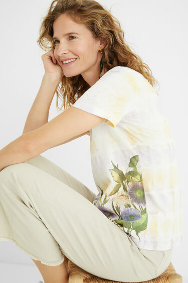 Tie-dye T-shirt 100% cotton | Desigual