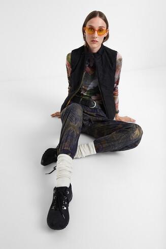 Pantalons de butxaques camoflower